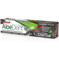 AloeDent Aloe Vera Triple Action Charcoal Toothpaste