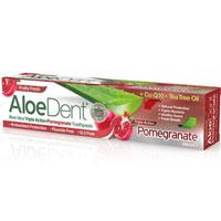 AloeDent - Aloe Vera Triple Action Pomegranate Toothpaste