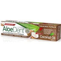 AloeDent Aloe Vera Triple Action Coconut Toothpaste