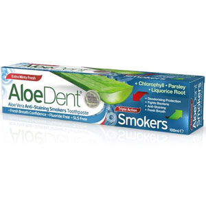 AloeDent - Aloe Vera Anti-Staining Smokers Toothpaste