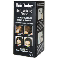 Hair Today - Hair Building Fibres - Black / Dark Brown