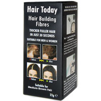Hair Today - Hair Building Fibres - Medium Brown