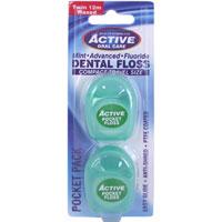 Active Oral Care - Dental Floss - Pocket Pack
