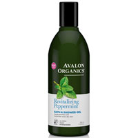 Avalon Organics - Revitalising Peppermint Bath & Shower Gel