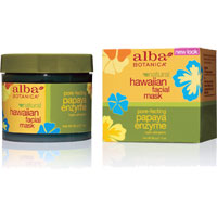Alba Botanica Hawaiian Facial Mask -  Papaya Enzyme