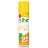Alba Botanica - Moisturising Sunscreen Lip Balm SPF 25