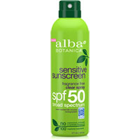 Alba Botanica - Sensitive Sunscreen Fragrance Free - SPF 50