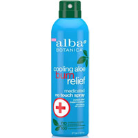 Alba Botanica - Cooling Aloe Burn Relief Medicated Spray