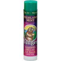 Badger Highland Mint Lip Balm