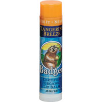 Badger Tangerine Breeze Lip Balm