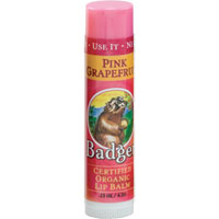 Badger Pink Grapefruit Lip Balm