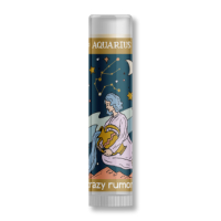 Crazy Rumors - Zodiac Collection Lip Balm - Aquarius