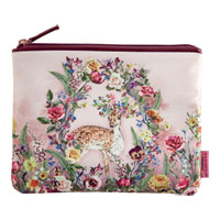 Danielle Creations Whimsical Woodlands Pouch