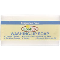 Loofco - Washing Up Soap Bar - Fragrance Free