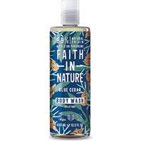 Faith In Nature - Faith For Men Blue Cedar Body Wash