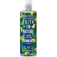Faith In Nature - Lemon & Tea Tree Body Wash