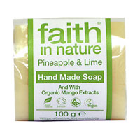 Faith In Nature - Pineapple & Lime Hand Made Soap