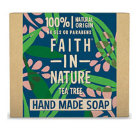 Faith In Nature - Tea Tree Soap Bar