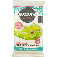 Ecozone - Anti-Bacterial Multi Surface Wipes