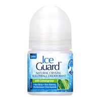 Ice Guard - Natural Crystal Rollerball Deodorant - Lemongrass