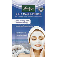 Kneipp 2-in-1 Mask & Peeling - Dead Sea Salt & Macademia Oil