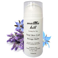 Martha Hill - Total Skin Care Borage Balm