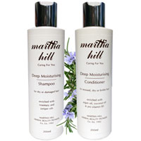 Martha Hill Deep Moisturising Hair Care Duo