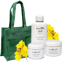 Martha Hill Evening Primrose Face & Body Care Trio