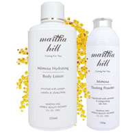 Martha Hill - Mimosa Body Care Duo