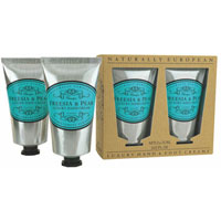 Naturally European - Freesia & Pear Luxury Hand & Foot Cream Gift Pack