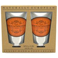 Naturally European - Neroli & Tangerine Luxury Hand & Foot Cream Gift Pack