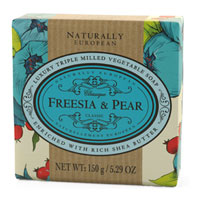 Naturally European - Freesia & Pear Soap Bar
