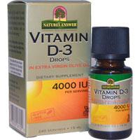 Natures Answer - Vitamin D3 Drops - 4000 IU