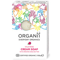 Organii - Cream Soap -  Wild Rose