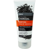 Optima Activated Charcoal Purifying Face Wash
