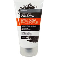 Optima Activated Charcoal Face Scrub