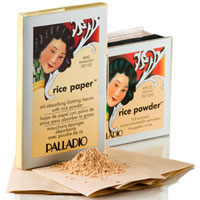Palladio Rice Paper & Rice Powder Duo