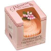 Patisserie De Bain - Strawberry Cupcake Soap