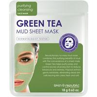 Skin Republic - Green Tea Mud Sheet Mask