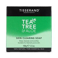 Tisserand Aromatherapy - Tea Tree & Aloe Skin Clearing Soap