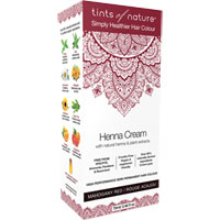 Tints of Nature - Henna Cream - Mahogany Red