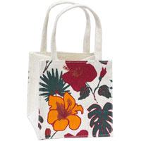 Unbranded - Jute Flower Print Bag