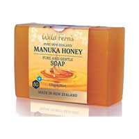 Wild Ferns - Manuka Honey Pure and Gentle Soap